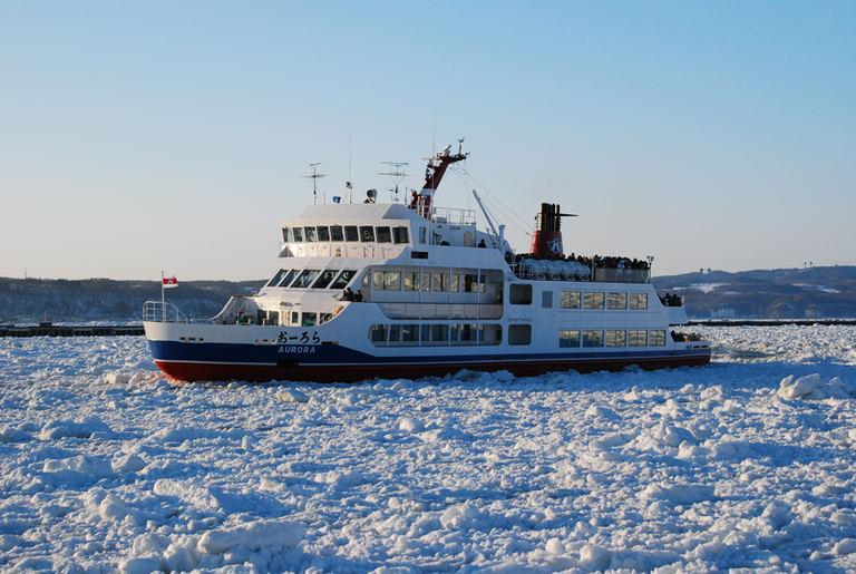 網走流氷観光砕氷船おーろら|北海道の「今」をお届け Domingo -ドミンゴ-