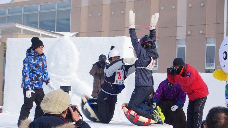 第30回 しんとつかわ雪まつり 北海道の「今」をお届け Domingo -ドミンゴ-