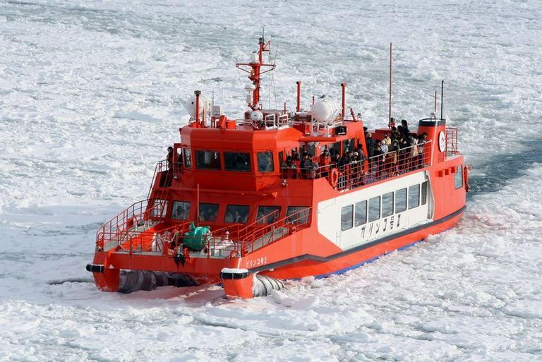 ガリンコ号ⅢIMERU・ガリンコ号Ⅱ冬期運航|北海道の「今」をお届け Domingo -ドミンゴ-