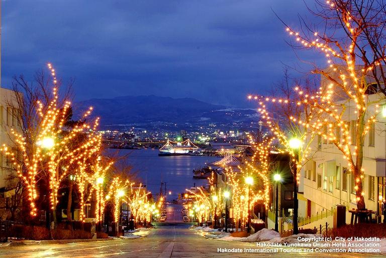 はこだてイルミネーション|北海道の「今」をお届け Domingo -ドミンゴ-