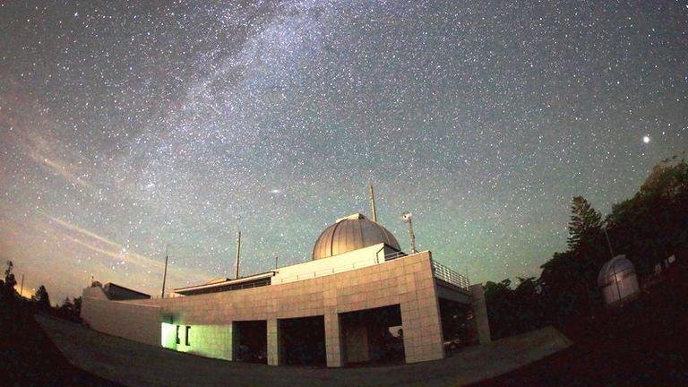 りくべつ宇宙地球科学館「火星観望会」