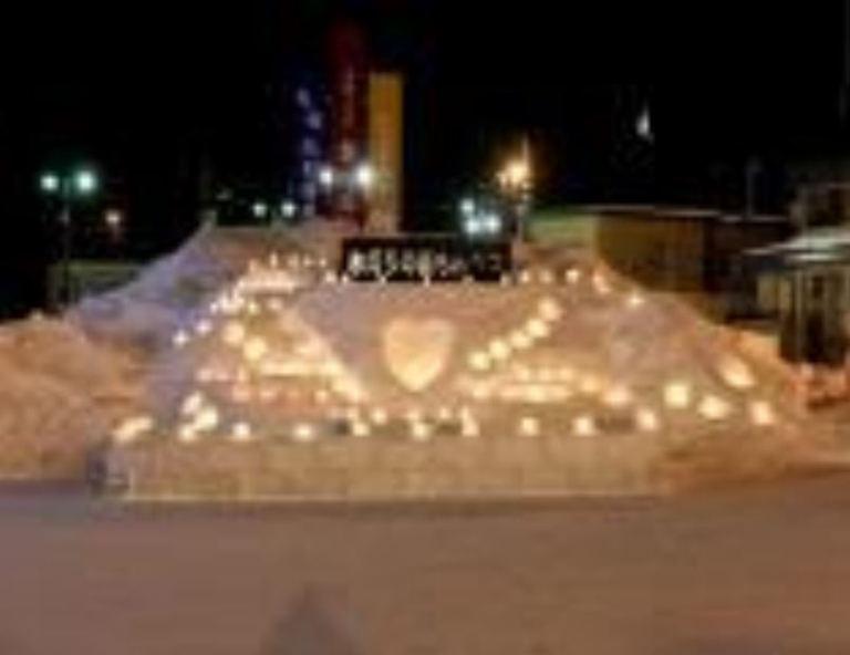 氷灯りの街もんべつ|北海道の「今」をお届け Domingo -ドミンゴ-