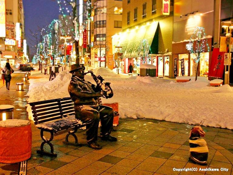 あさひかわ街あかりイルミネーション|北海道の「今」をお届け Domingo -ドミンゴ-