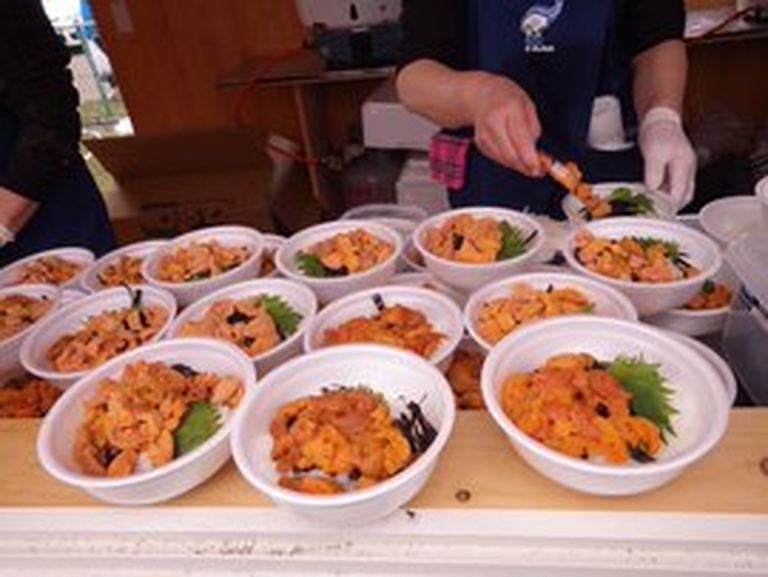 えりもうに祭り【スマホ物産展】|北海道の「今」をお届け Domingo -ドミンゴ-