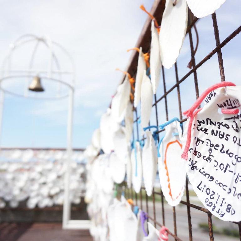 紋別市の貝殻絵馬など【北海道ミライノート(11)】|Domingo