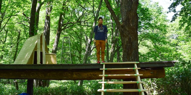 北海道上川町の「遊び」のこれからをもっと楽しくする「ツリーハウスプロジェクト」vol.1 Domingo