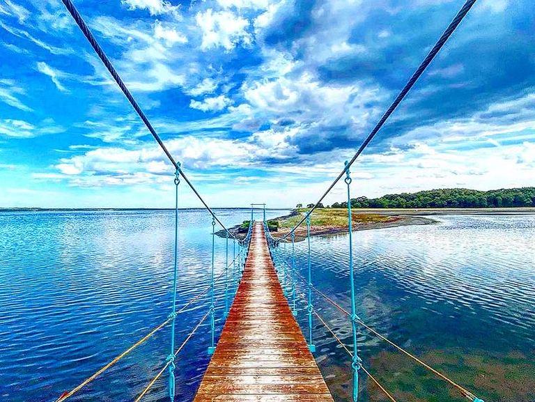 雄大な大自然への架け橋。「湧別町の吊り橋」など 【北海道ミライノート (45)】