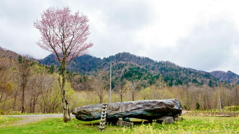 草原に鎮座する「チロロの巨石」。不思議な違和感漂う巨石の正体とは? Domingo