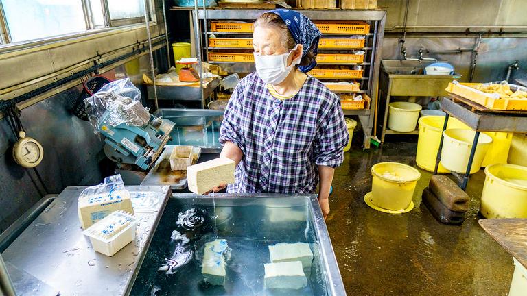 地域に愛されて60年以上 留寿都村「清水豆腐店」の変わらぬ味 Domingo