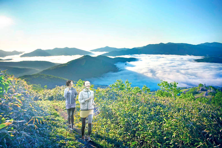 星野リゾートトマム 「雲海パワーウォーキング」 北海道の「今」をお届け Domingo -ドミンゴ-