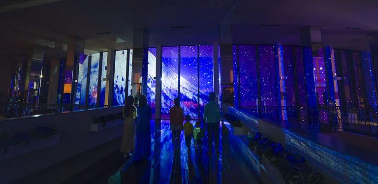ルスツリゾート プロジェクションマッピングKAMORI WONDER LIGHTS - 生命の大地..北海道 - 北海道の「今」をお届け Domingo -ドミンゴ-